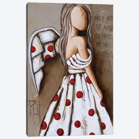 Everything You Need Canvas Print #RAC21} by Rut Art Creations Art Print