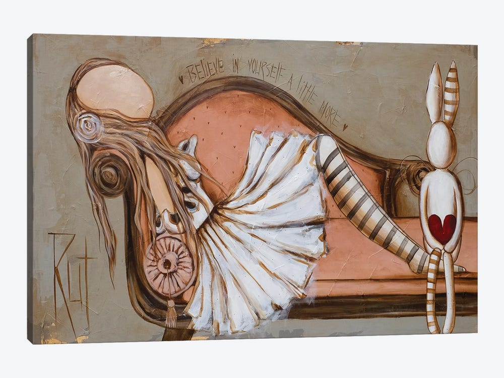 Believe by Rut Art Creations 1-piece Canvas Wall Art
