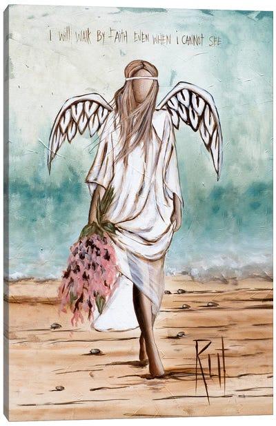 Walk By Faith Canvas Art Print