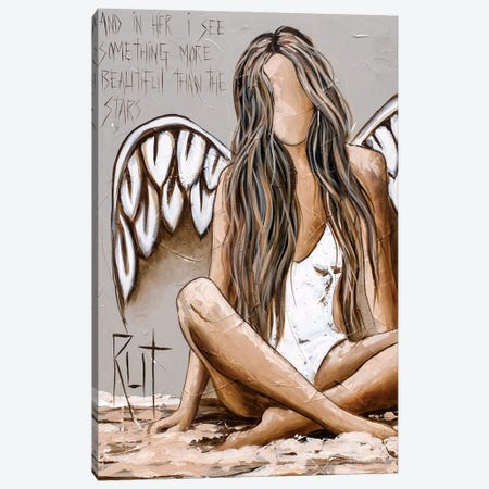 And In Her I See Canvas Print #RAC26} by Rut Art Creations Canvas Wall Art