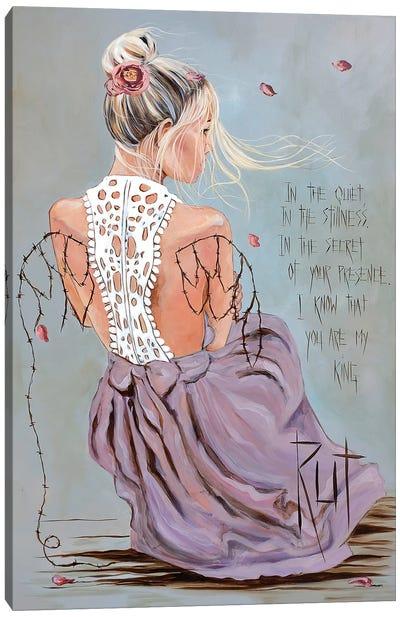 In The Quiet Canvas Art Print