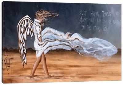 Keep Walking Through The Storm Canvas Art Print