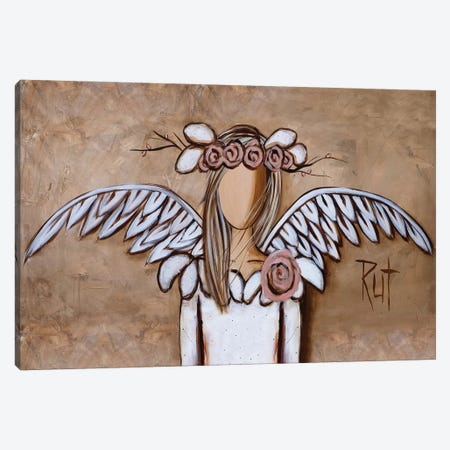 Rosy Canvas Print #RAC4} by Rut Art Creations Canvas Wall Art