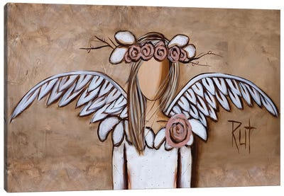 Rosy Canvas Art Print