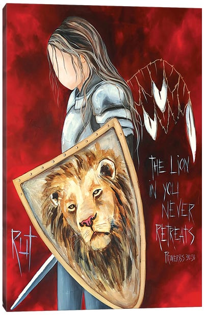 The Lion In You Canvas Art Print