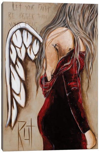 Let Your Faith Canvas Art Print