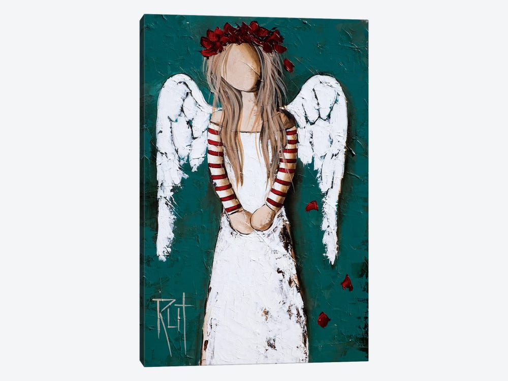 Feathery by Rut Art Creations 1-piece Canvas Wall Art