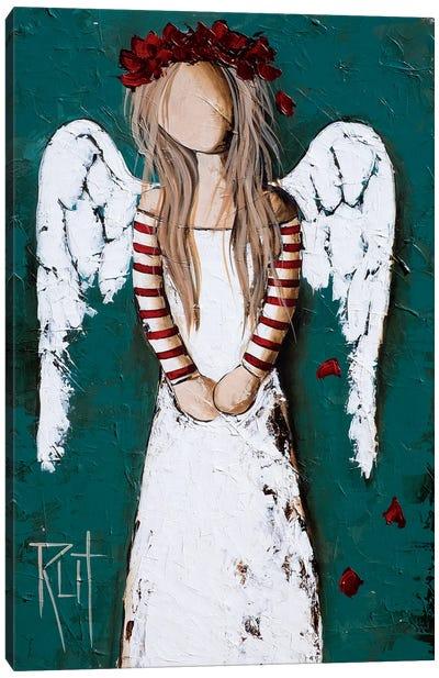 Feathery Canvas Art Print