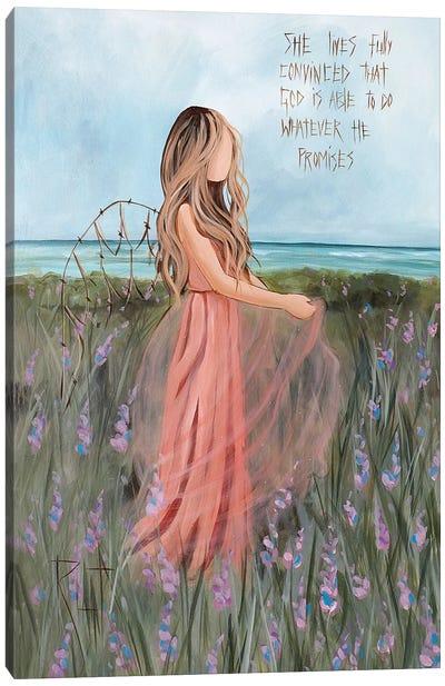 She Lives Fully Canvas Art Print