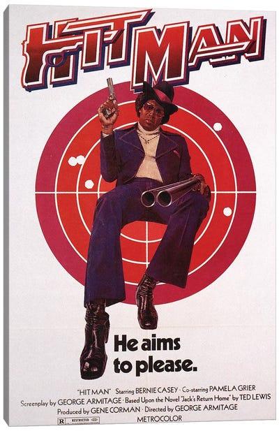 Hit Man Film Poster Canvas Art Print