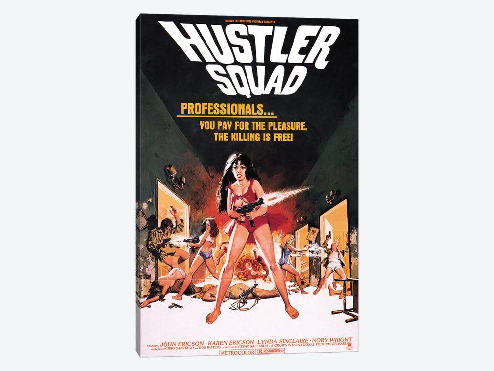 Hustler Squad Film Poster by Radio Days 1-piece Art Print