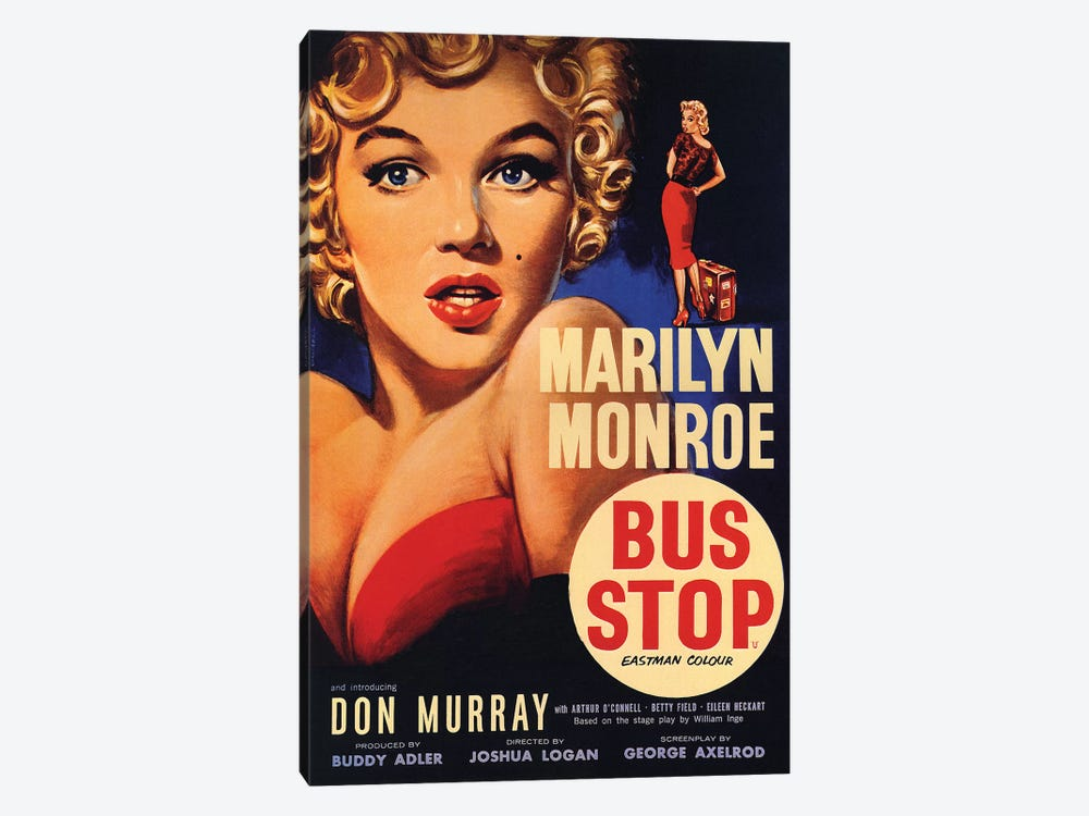 Bus Stop Film Poster by Radio Days 1-piece Art Print