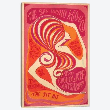 San Bruno A-Go-Go Canvas Print #RAD134} by Radio Days Canvas Art Print