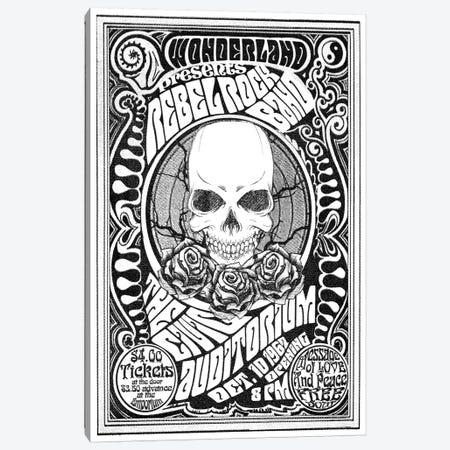 Rebel Rock Band Canvas Print #RAD136} by Radio Days Canvas Print