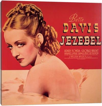 Jezebel Film Poster Canvas Art Print