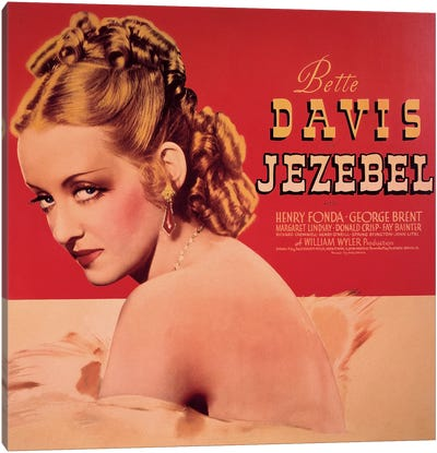 Jezebel Film Poster Canvas Art Print
