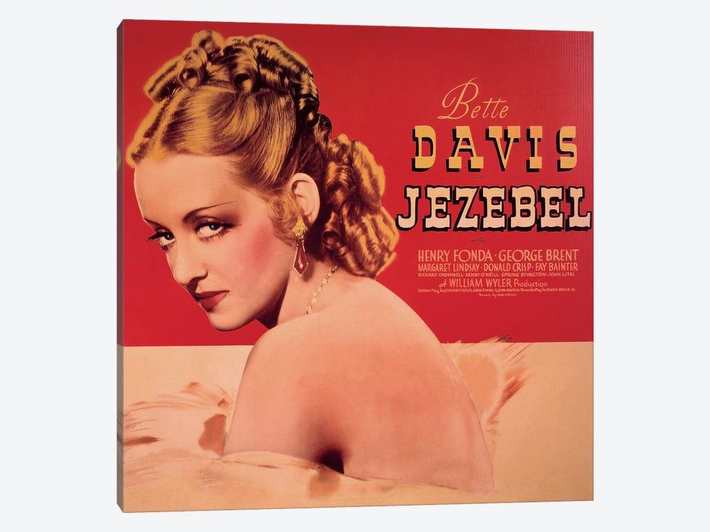 Jezebel Film Poster by Radio Days 1-piece Canvas Wall Art
