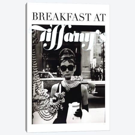 Audrey Hepburn Classic Tiffany's Canvas Print #RAD144} by Radio Days Canvas Art