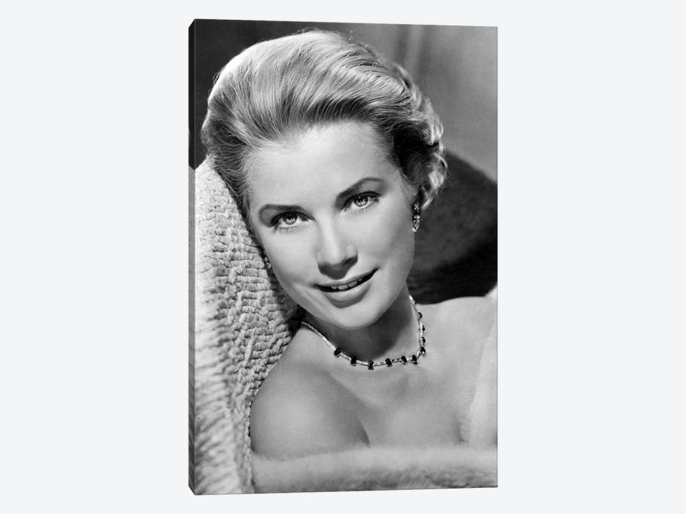 Grace Kelly In Pose by Radio Days 1-piece Canvas Art Print