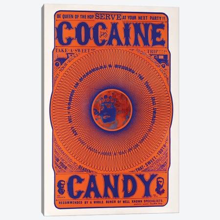 Cocaine Candy Canvas Print #RAD154} by Radio Days Art Print