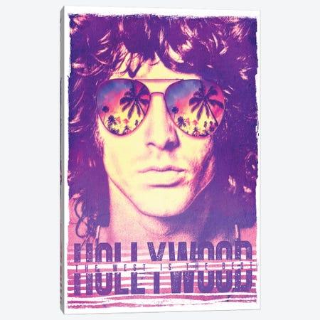 Jim Morrison Hollywood Life Canvas Print #RAD161} by Radio Days Canvas Art Print