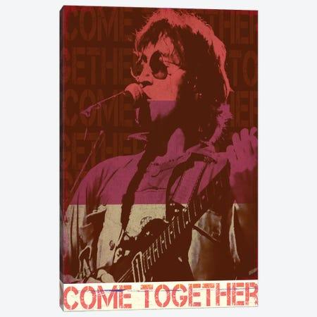 John Lennon Rocker Red Canvas Print #RAD170} by Radio Days Canvas Art