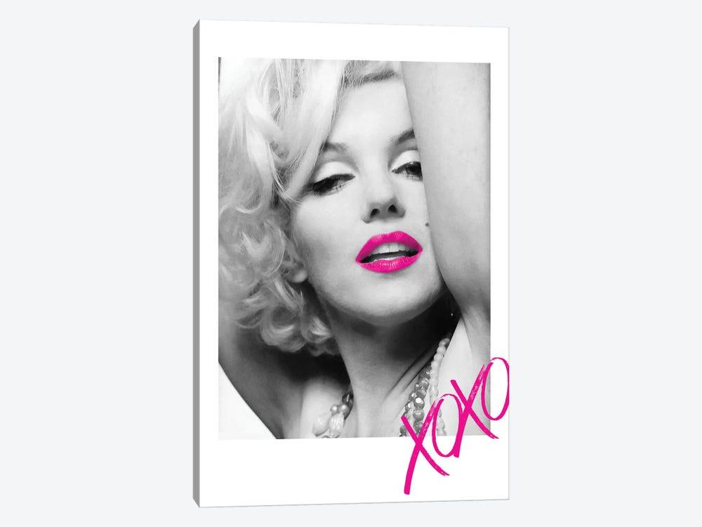 Marilyn Monroe Pink XOXO by Radio Days 1-piece Art Print