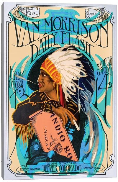 Van Morrison Canvas Art Print