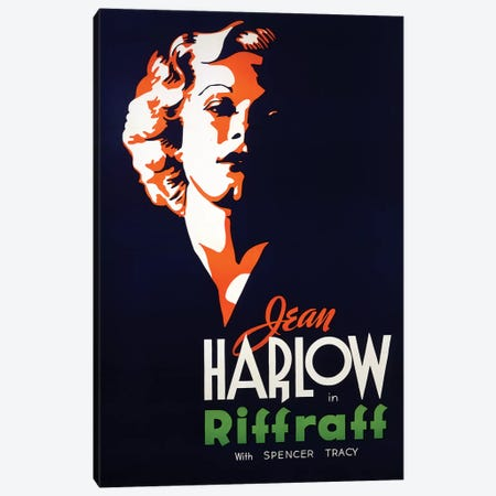 Riff Raff Film Poster Canvas Print #RAD18} by Radio Days Canvas Print