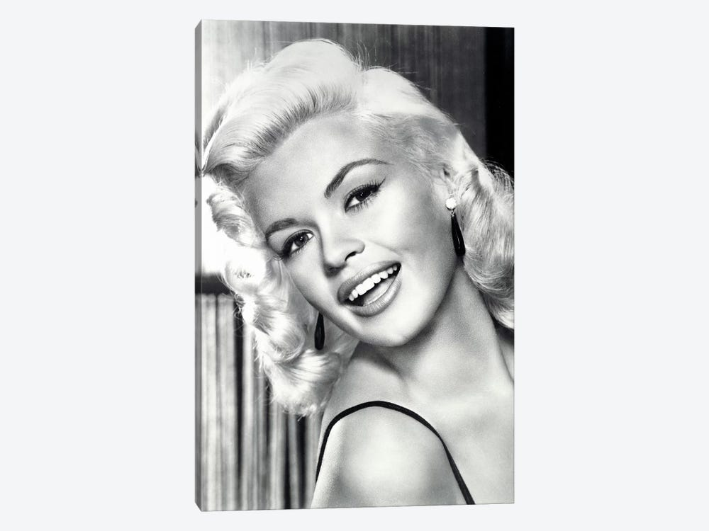 Jayne Mansfield's Gorgeous Smile by Radio Days 1-piece Canvas Artwork