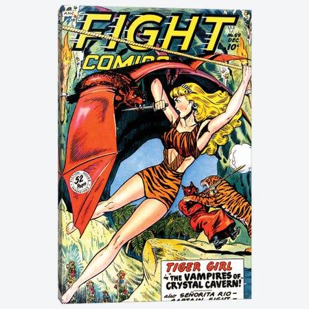 Fight 59 Dec Canvas Print #RAD236} by Radio Days Canvas Artwork