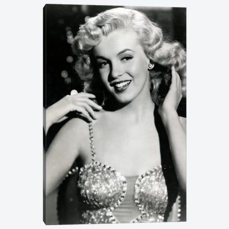 Marilyn Monroe I Canvas Print #RAD24} by Radio Days Canvas Art Print