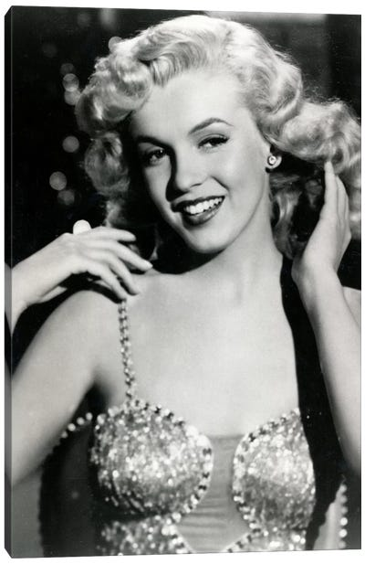 Marilyn Monroe I Canvas Art Print