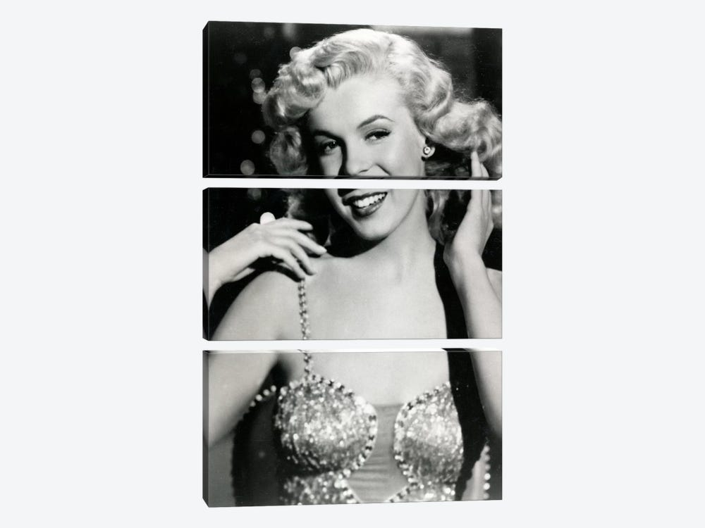 Marilyn Monroe I by Radio Days 3-piece Canvas Wall Art
