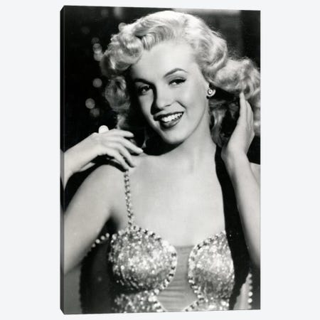 Marilyn Monroe I Canvas Print #RAD24} by Radio Days Canvas Art Print
