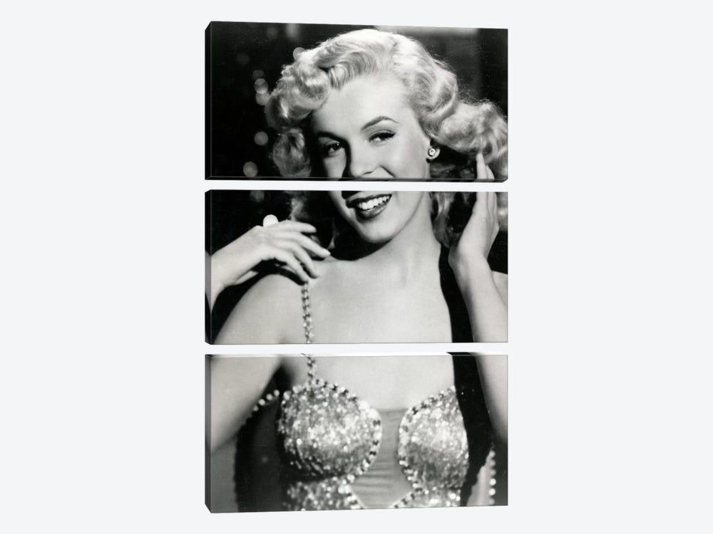 Marilyn Monroe I by Radio Days 3-piece Canvas Wall Art