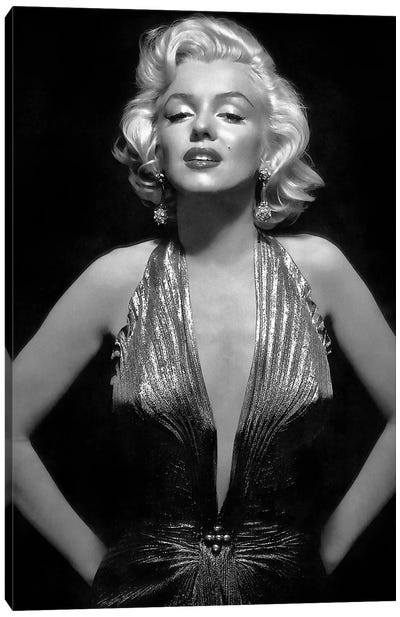 The Iconic Marilyn Monroe Canvas Art Print