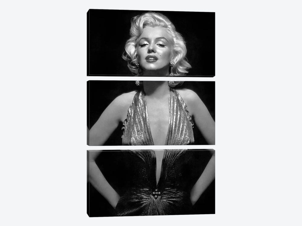 The Iconic Marilyn Monroe by Radio Days 3-piece Canvas Print