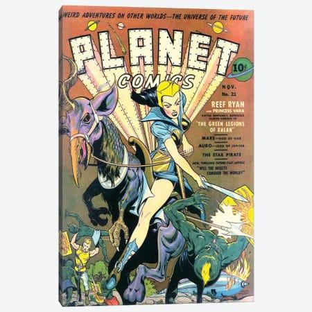 Planet 21 Nov Canvas Print #RAD289} by Radio Days Canvas Wall Art