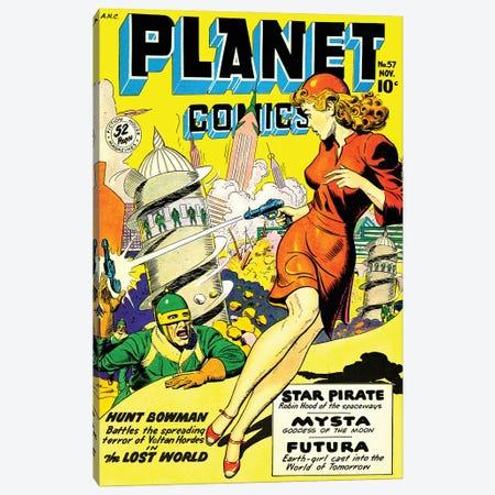 Planet 57 Nov Canvas Print #RAD302} by Radio Days Canvas Art Print