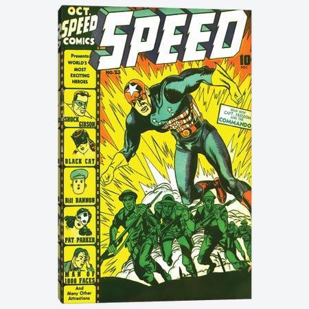 Speed 23 Oct Canvas Print #RAD318} by Radio Days Canvas Art