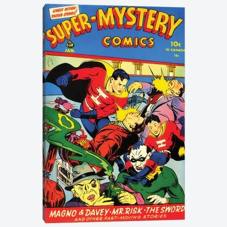 Super Mystery 4-5 Jan Canvas Print #RAD337} by Radio Days Canvas Print