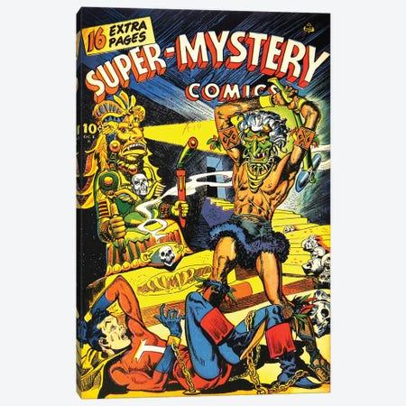 Super Mystery 6-2 Oct Canvas Print #RAD341} by Radio Days Canvas Art Print