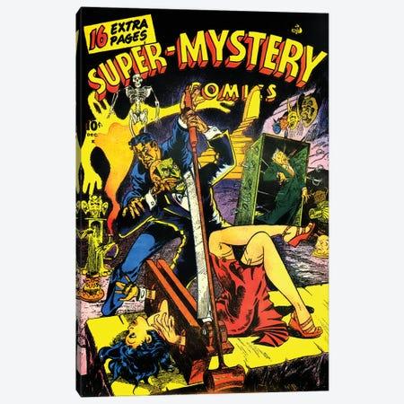 Super Mystery 6-3 Dec Canvas Print #RAD342} by Radio Days Canvas Print