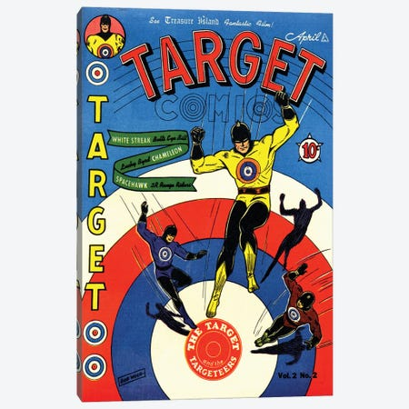 Target 2-2 Apr Canvas Print #RAD348} by Radio Days Canvas Print