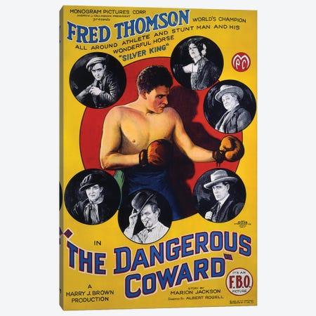 The Dangerous Coward I Canvas Print #RAD357} by Radio Days Canvas Art Print