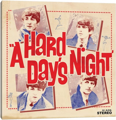 A Hard Day's Night I Canvas Art Print