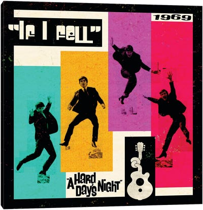 A Hard Day's Night II Canvas Art Print