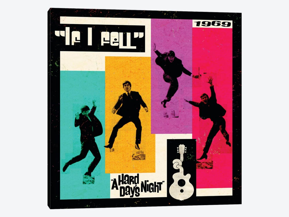 A Hard Day's Night II by Radio Days 1-piece Canvas Wall Art