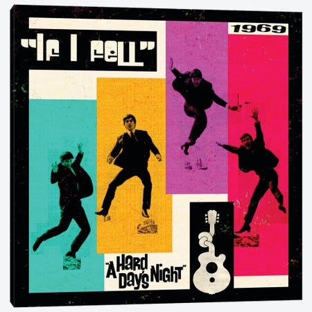 A Hard Day's Night II Canvas Print #RAD37} by Radio Days Canvas Art
